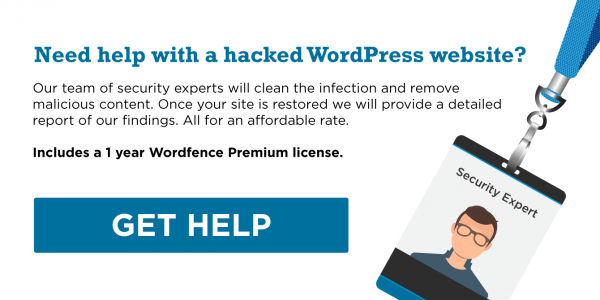 How to Clean a Hacked WordPress Site using Wordfence - Wordfence