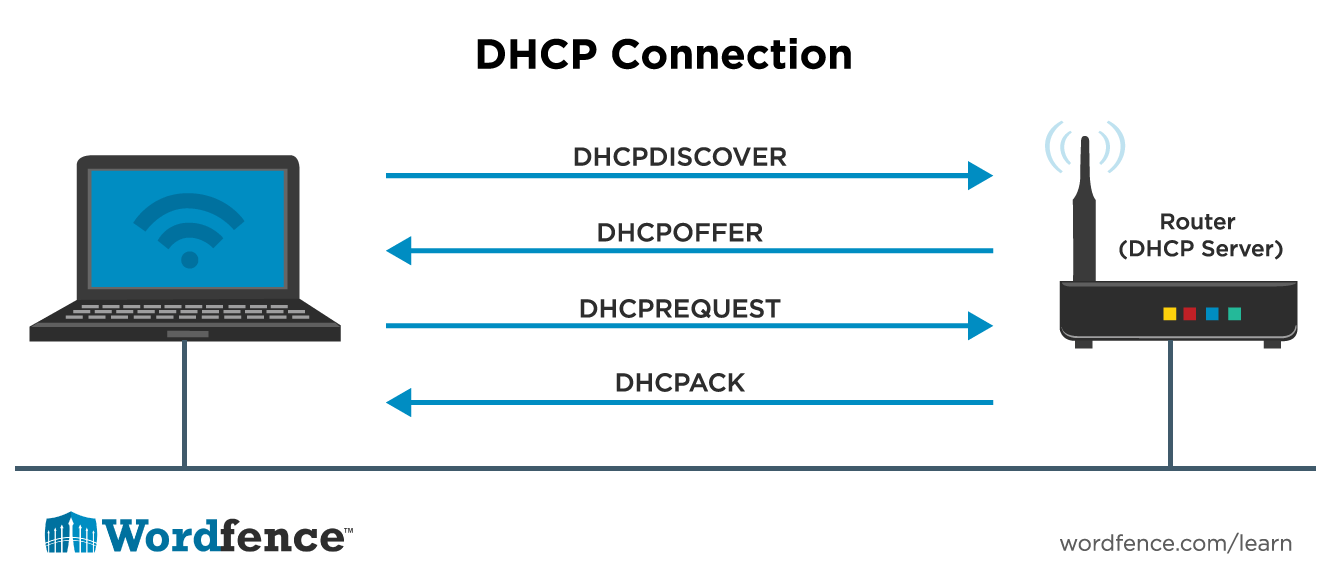 DHCP Connection Diagram