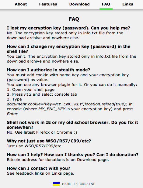 PAS malware FAQ