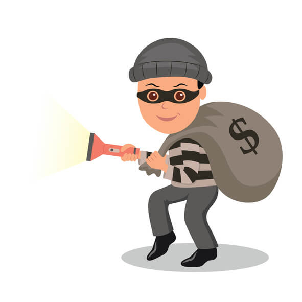 WordPress table prefix burglar