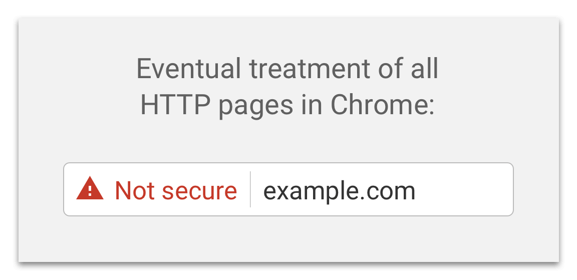 Imminent Non Https Sites Labeled Not Secure By Chrome