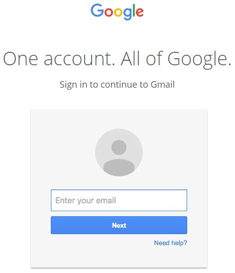 GMail data URI phishing sign-in page