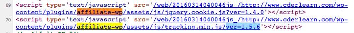 Wordpress Hack aus 2016 - Archive.org Quelltext zu cderlearn.com