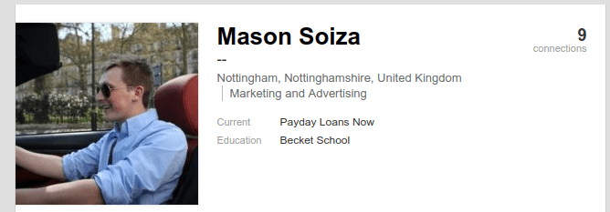 Image result for Mason Soiza