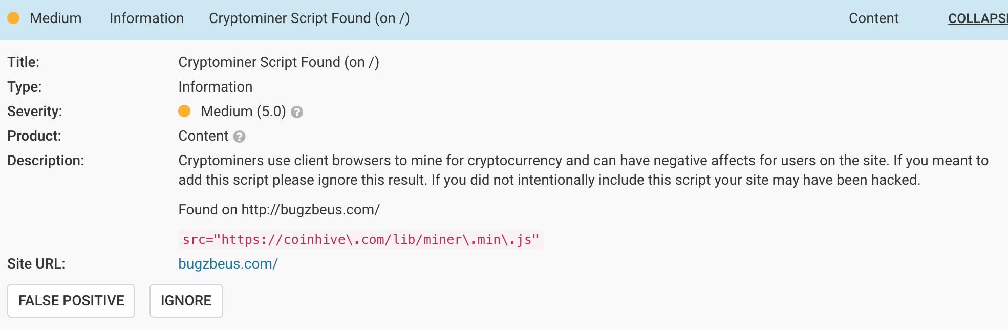 Cryptocurrency Miners Exploiting WordPress Sites