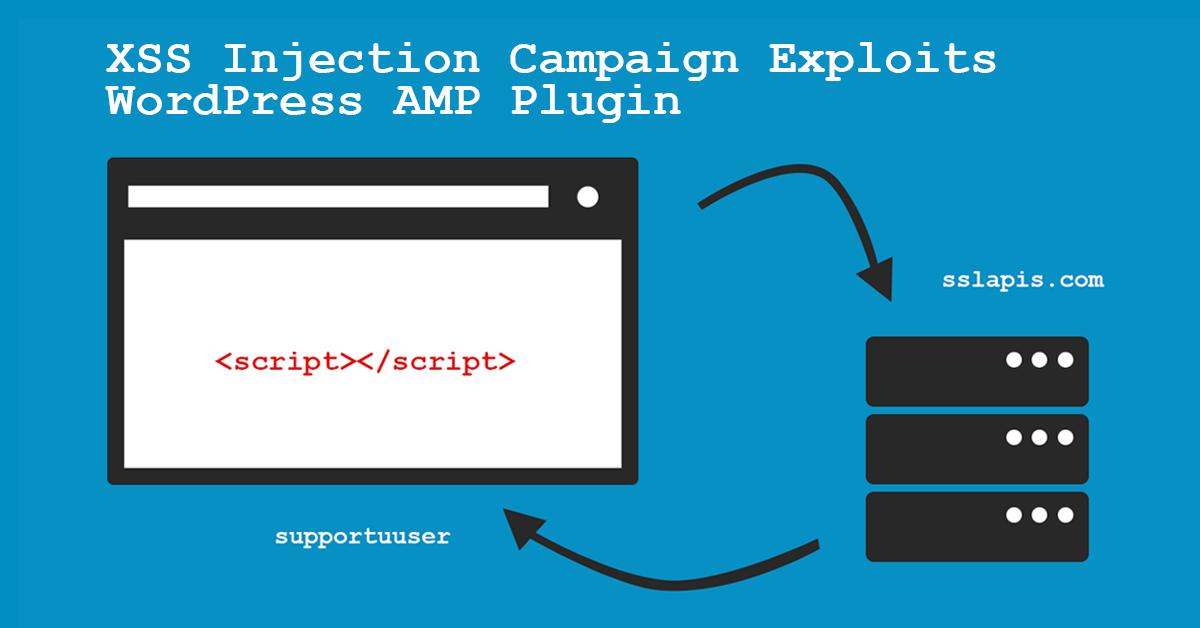 XSS Injection Campaign Exploits WordPress AMP Plugin