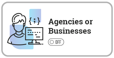Agencies Businesses Auto-Updates OFF