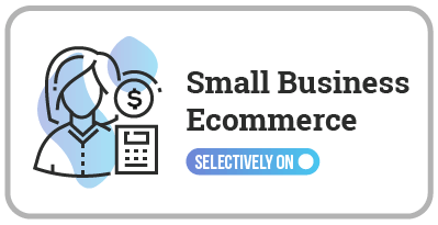 Small Business Ecommerce Selectively ON