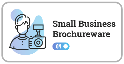 Small Business Brochureware Site Auto-Update ON