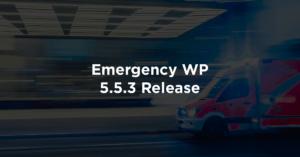 Emergency WP 5.5.3 Release